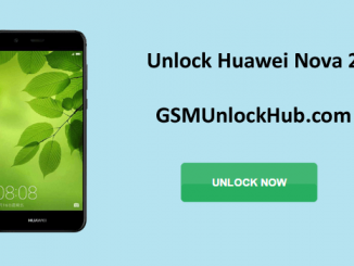Unlock Huawei Nova 2
