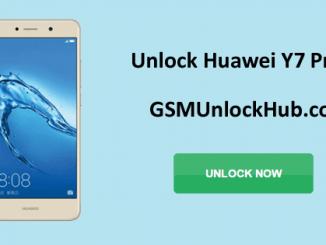 Unlock Huawei Y7 Prime