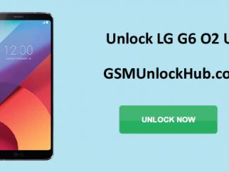 Unlock LG G6 O2 UK