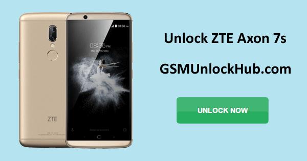 Unlock ZTE Axon 7s