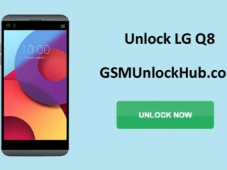 Unlock LG Q8