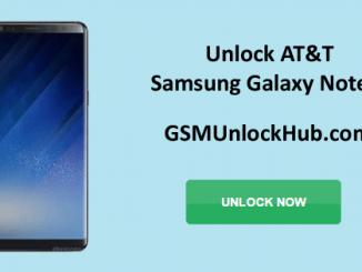 Unlock AT&T Samsung Galaxy Note 8