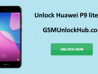 Unlock Huawei P9 lite mini