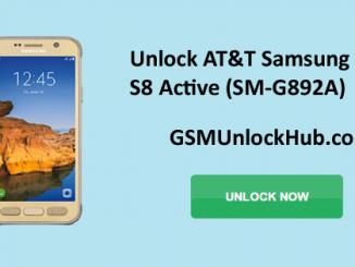 Unlock AT&T Samsung Galaxy S8 Active (SM-G892A)