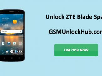 Unlock ZTE Blade Spark